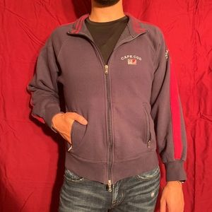 Men's Cape Cod Navy Jacket With Logo